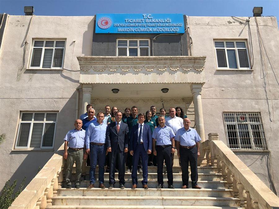 Bölge Müdürümüzün Mardin Gümrük Müdürlüğü, Mardin Organize Sanayi Bölgesi ve Nusaybin Gümrük Müdürlüğü ziyaretleri