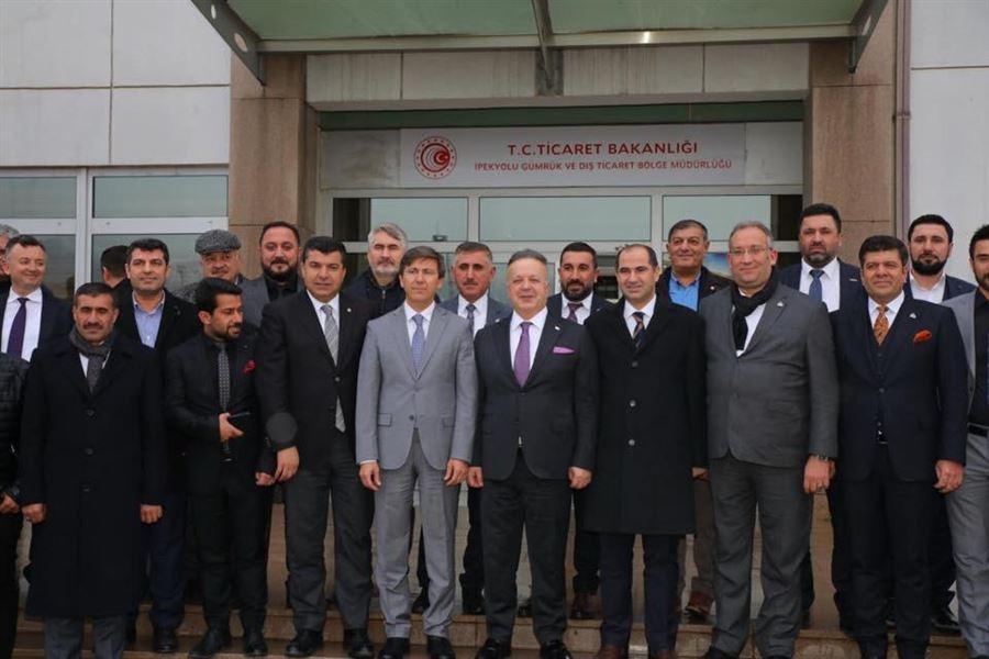 İhracatçılar Meclisi Başkanı Sayın GÜLLE'nin Ziyareti
