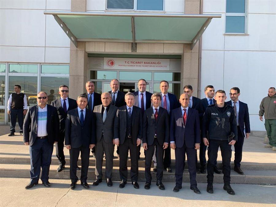 Erbil Başkonsolosu Hakan KARAÇAY'ın Bölge Müdürlüğümüze Ziyareti