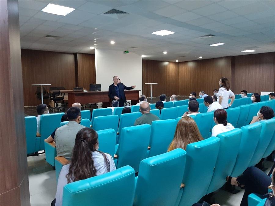 Bakanlığımız Yer Değiştirme Yönetmeliği Hakkında Bilgilendirme Toplantısı Yapıldı